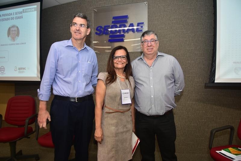 Geraldo Luciano Mattos Junior, Izabel Colares, Maia Junior