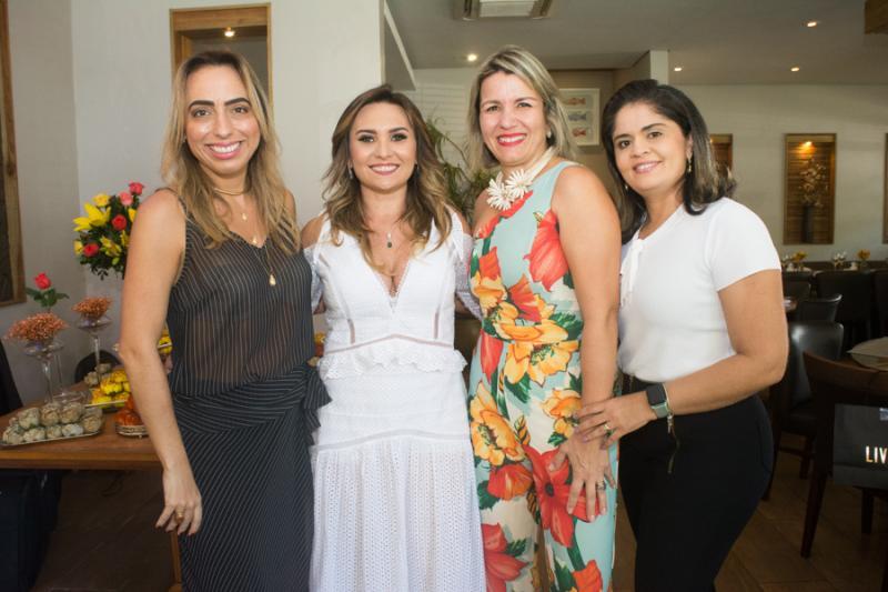 Mabel Portela, Socorro Medeiros, Claudia Sales e Debora Braga