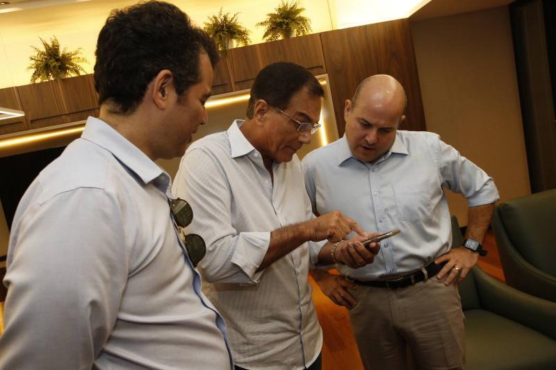 Felipe Cunha, Beto Studart e Roberto Claudio 3