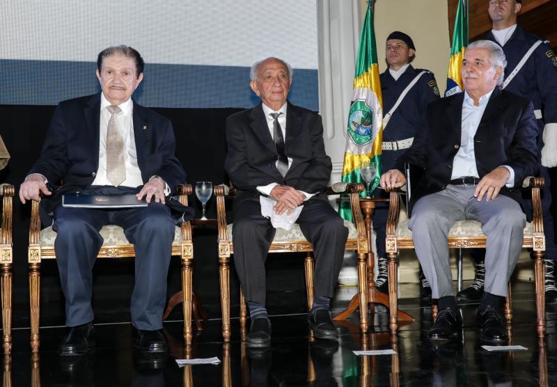 Mauro Benevides, Otho Nogueira e Pio Rodrigues