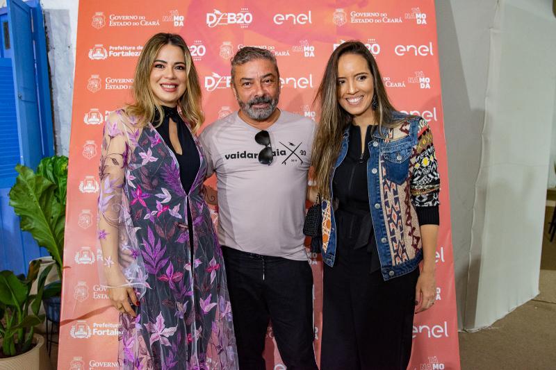 Onelia Leite, Claudio Silveira e Giselle Bezerra