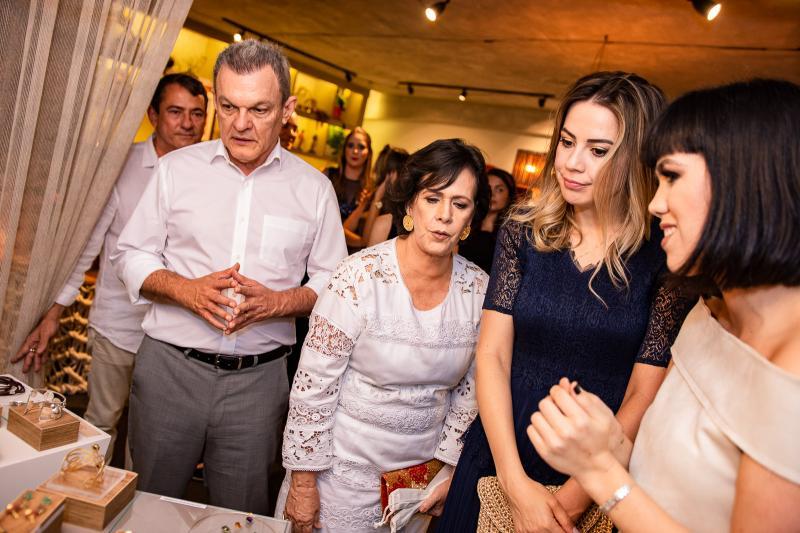 Sarto Nogueira, Neuma Figueiredo e Onelia Leite