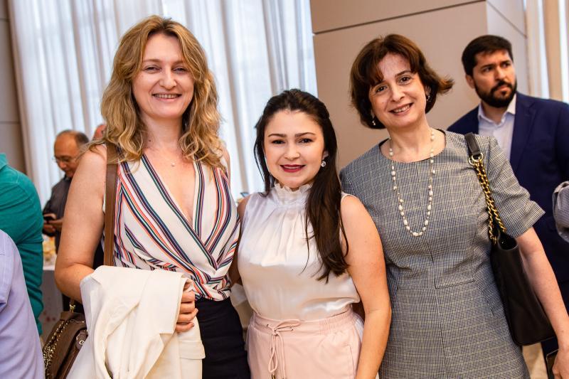 Monica Heuser, Darla Lopes e Cintia Diogenes