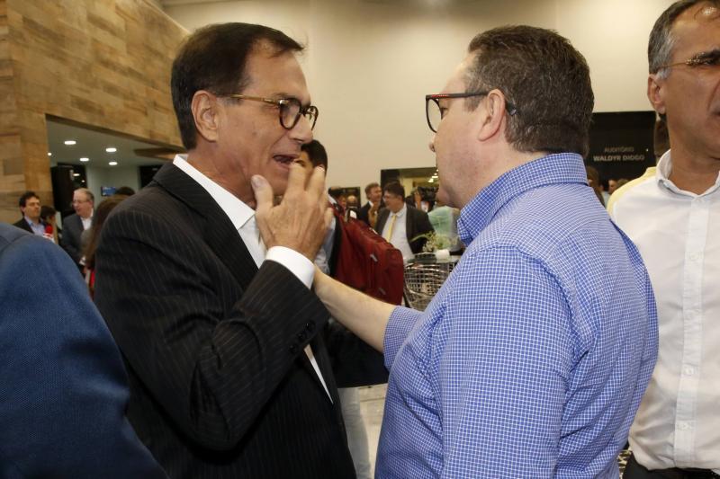 Beto Studart e Luiz Eduardo Moraes