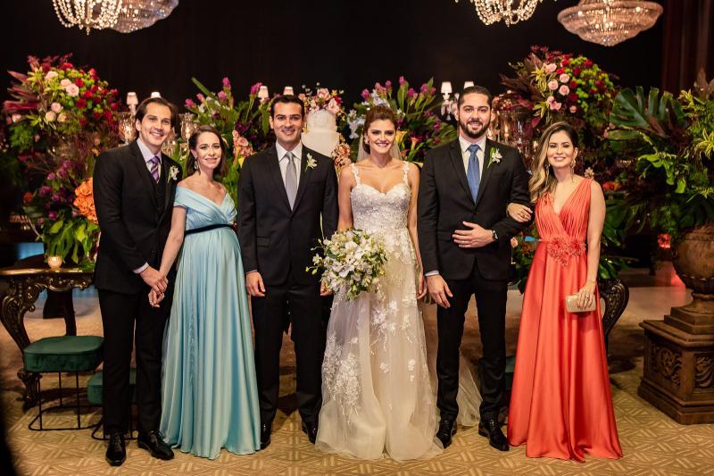 Leonardo Brito, Leticia Brito, Jose Carlos e Isabele Studart e Victor e Gisele Brito