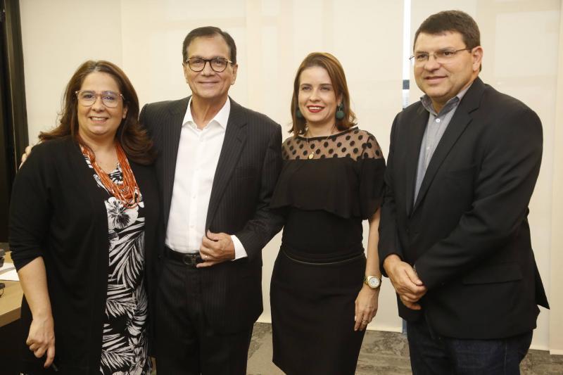 Ana Maria, Beto Studart, Rocaia Dutra e Sergio Lopes
