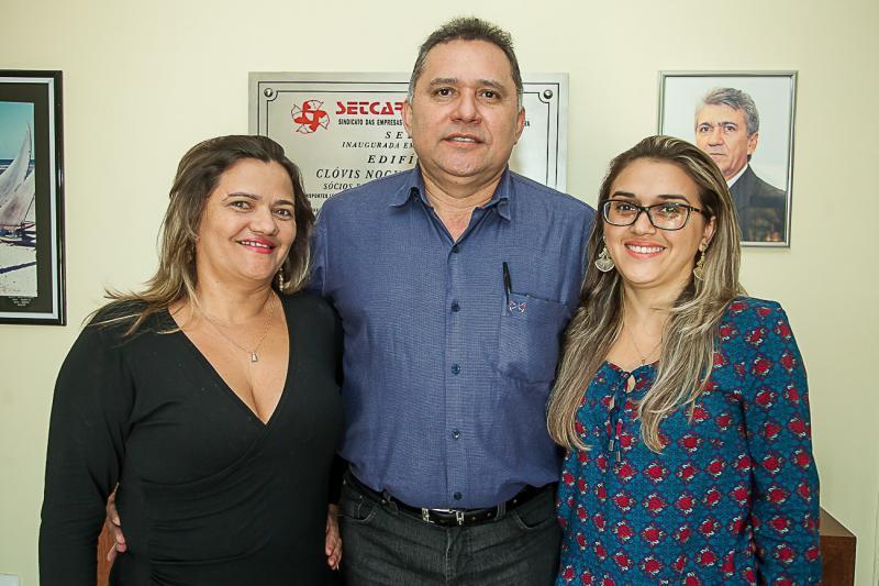Auriele Almeida, Expedito Junior e Rafaele Sousa