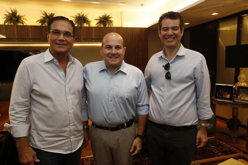 Beto Studart, Roberto Claudio e Felipe Cunha 1