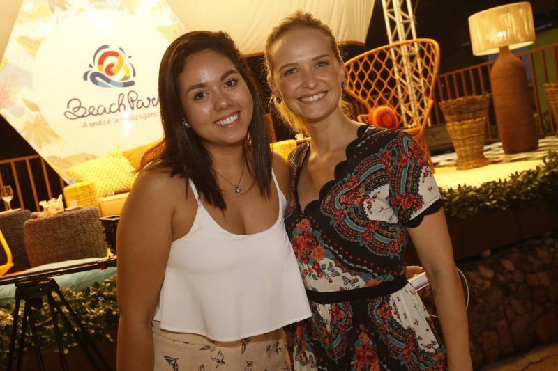 Mariana Souza e Fernanda Rodrigues