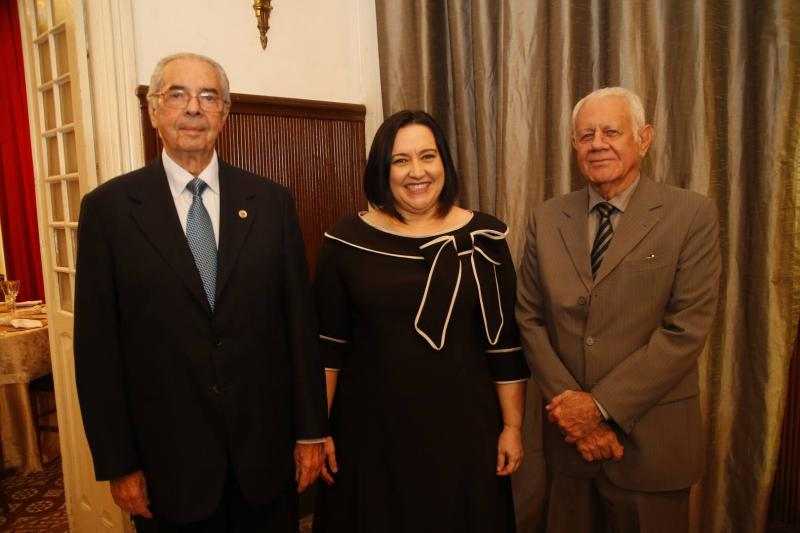 Paulo Picanco, Norma Zelia e Flavio Saboia