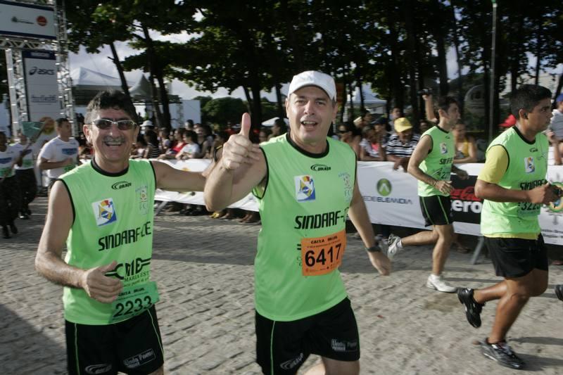 Mario Leo e Marcos Antonio Sampaio