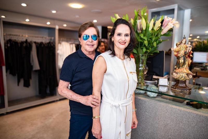 Lazaro Medeiros e Adriana Miranda