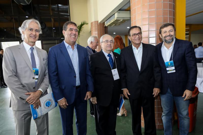 Marcos Pompeu, Luis Gastao Bitencurt, Eduardo Bezerra, Beto Studart e Elcio Batista