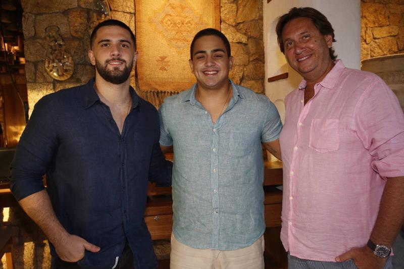 Bruno Nottingham, Rafael Pinto e Phillip Brookes