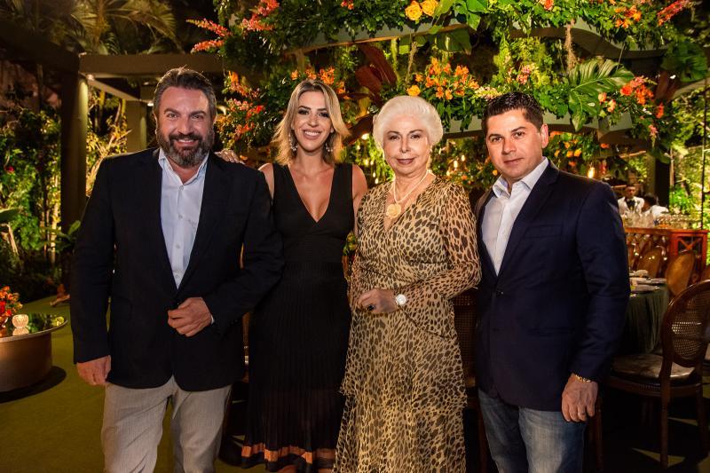 Mario Sergio Garcia, Renata Garcia, Alodia Guimaraes e Pompeu Vasconcelos