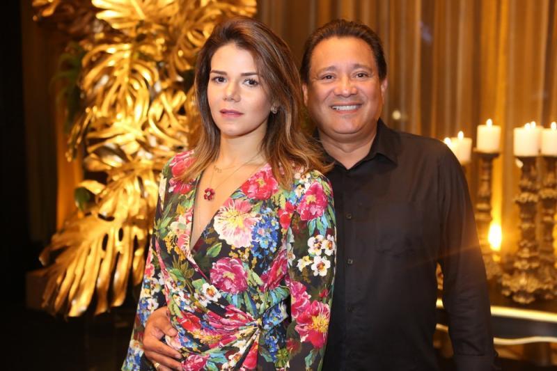 Livia Bastos e Horlando Braga