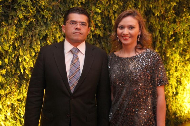 Waldetario Monteiro e Ana Karine