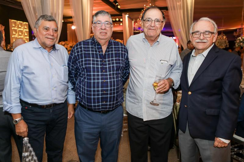 Osvaldo Rebouças, Maia Junior, Paulo Fontenele e Ednilton Soárez