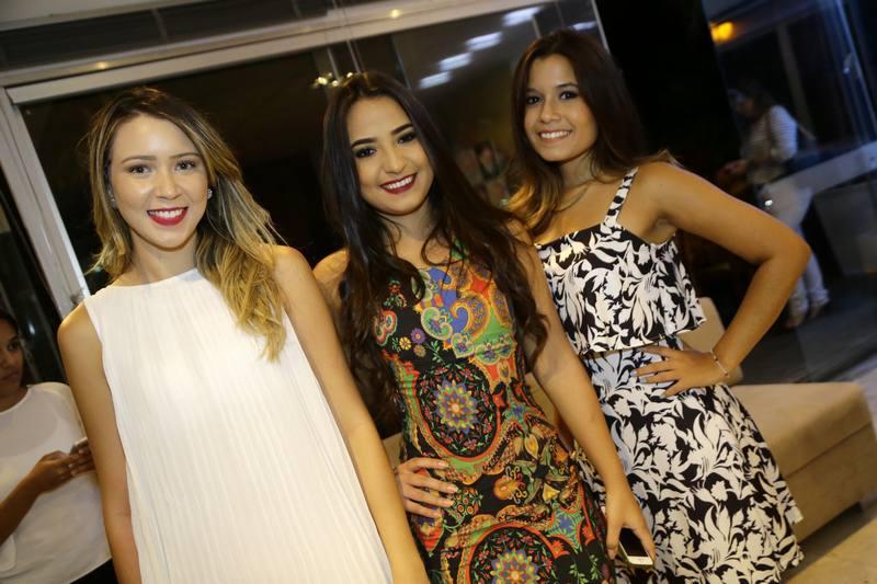 Leticia Alencar, Jessica Tomaz e Juliana Beirac