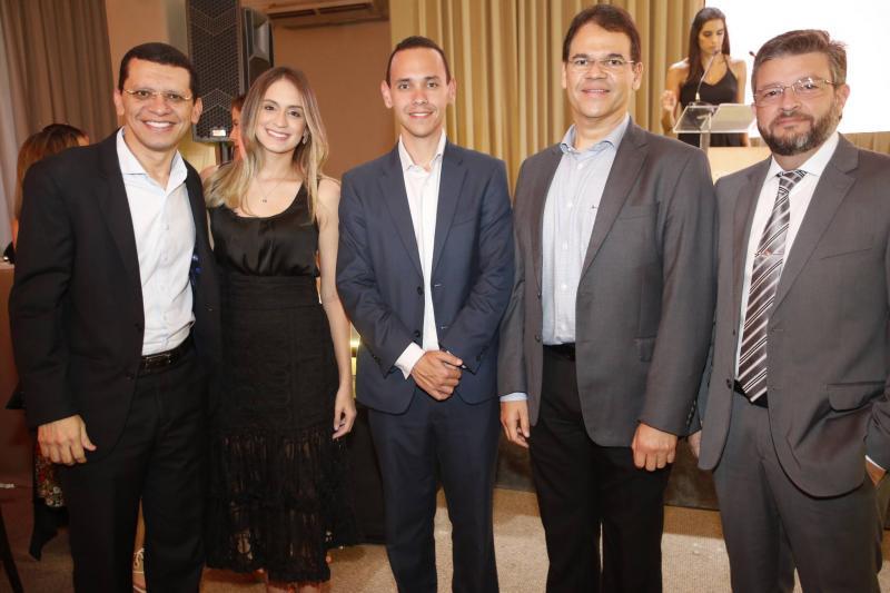 Renato e Luana Lima, Pedro Rocha, Marcelo Pinheiro e Andre machado