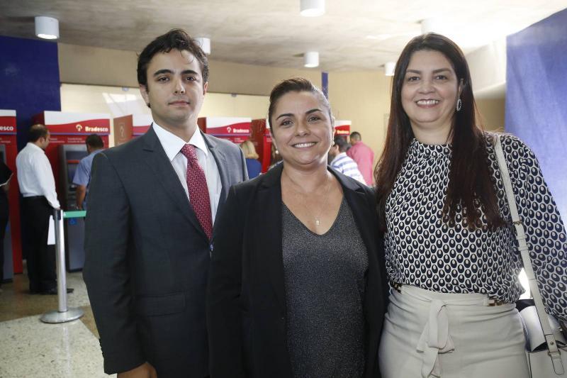 Joao Marcelo, Adriana Gomes e Natania Barbosa