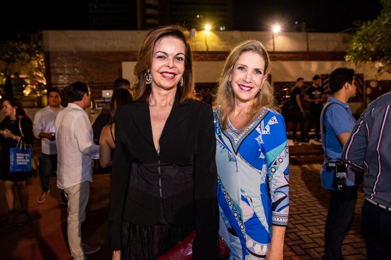 Glaucia Andrade e Marjorie Marshal
