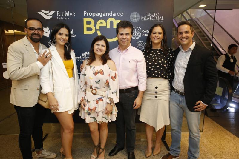 Tavinho Brigido, Carol Mafra, Ticiana e Duda Brigido, Priscila Fiuza e Diego Braga