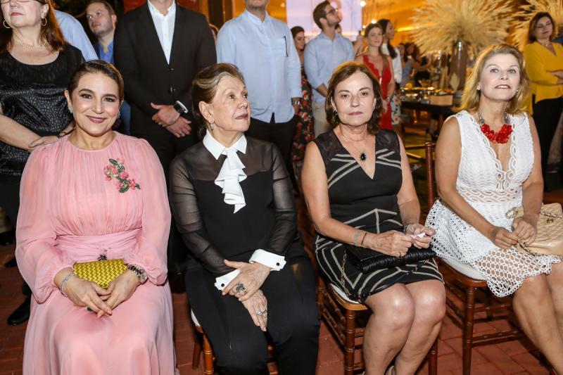 Patricia e Tania Macedo, Ana Studart e Rosangela Araujo