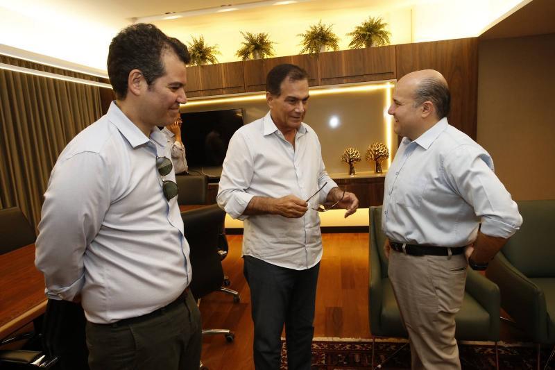 Felipe Cunha, Beto Studart e Roberto Claudio 2