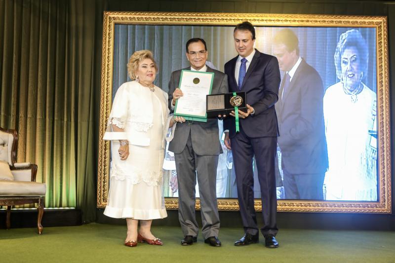 Consuelo Dias Branco, Beto Studart e Camilo Santana