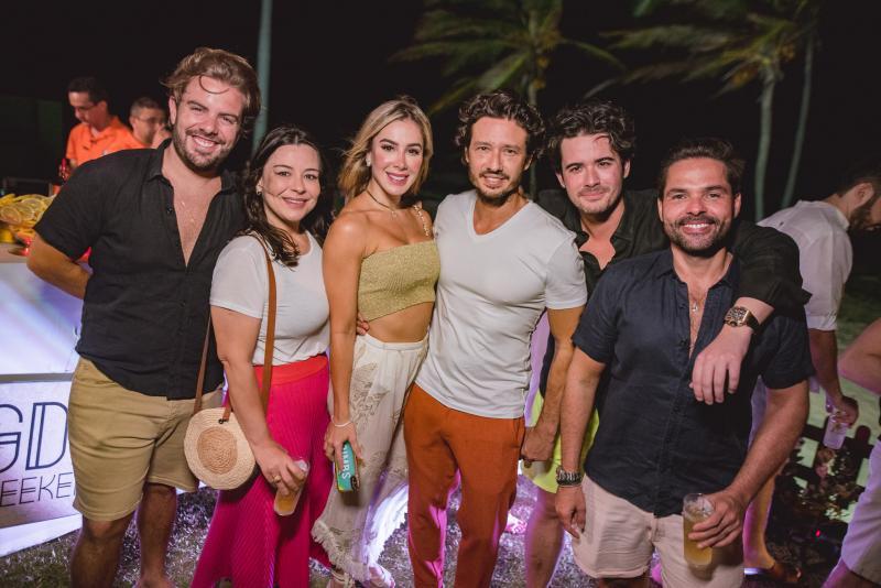 Claudio Nelson, Lia Brasil, Priscilla Silva, Marcelo Quindere, Ivens Dias Branco e Savio Brito