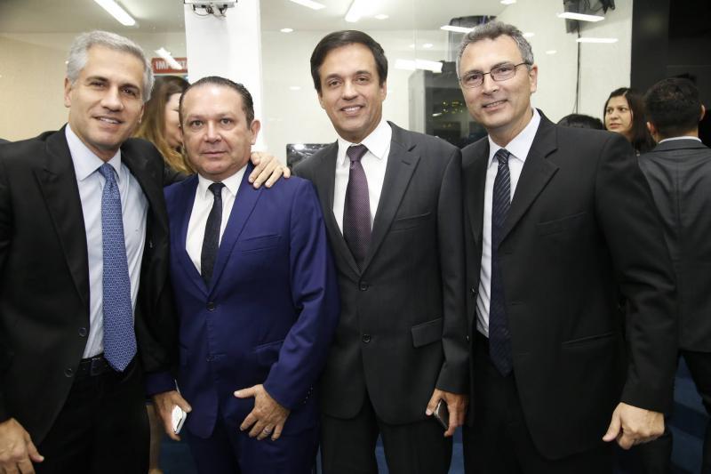Adolfo Bichucher, Max Bezerra, Fernando Novaes e Carlos Pereira