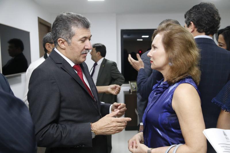 Antonio Henrique e Renata Jereissati