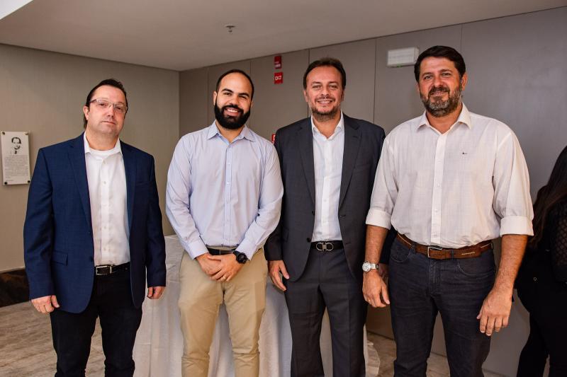 Marcos Miranda, Italo Gadelha, Adriano Nogueira e Rafael Rodrigues