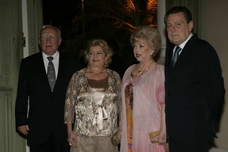 Ubiratan e Terezita Aguiar, Yolanda e Ayrton Queiroz