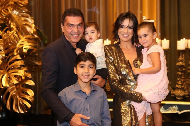 Idezio, Arthur, Bruno, Maryana e Sophia Rolim