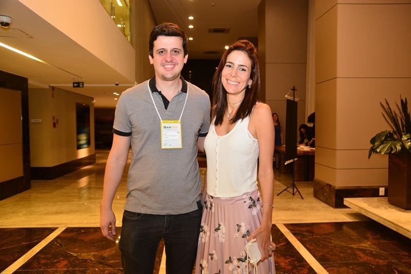 Felipe Brigido e Gisele Studart
