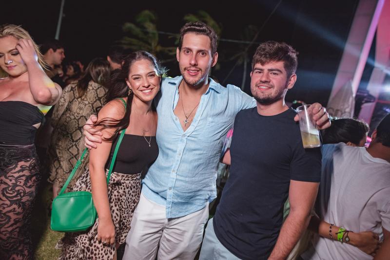 Mila Duarte, Gabriela Dias Branco e Michel Ferraz