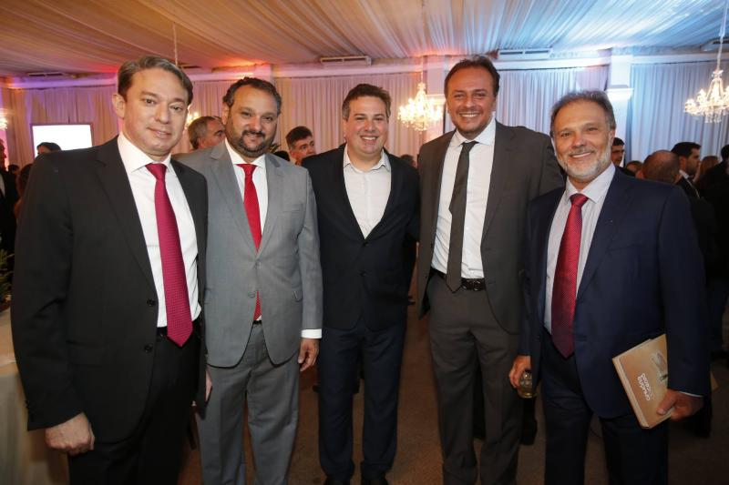Paulo Vale, Patrilino e Samuel Dias, Adriano Nogueira e Jose Carlos Pontes
