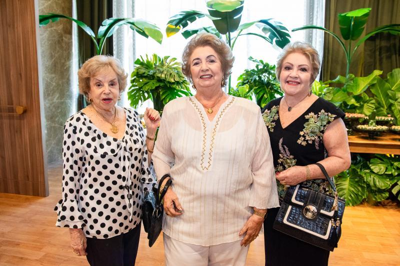 Cleuza Ponte, Gabriela Castro e Eliana Nunes
