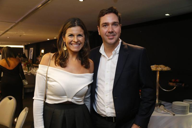 Denise Pontes e Eduardo Bismarck