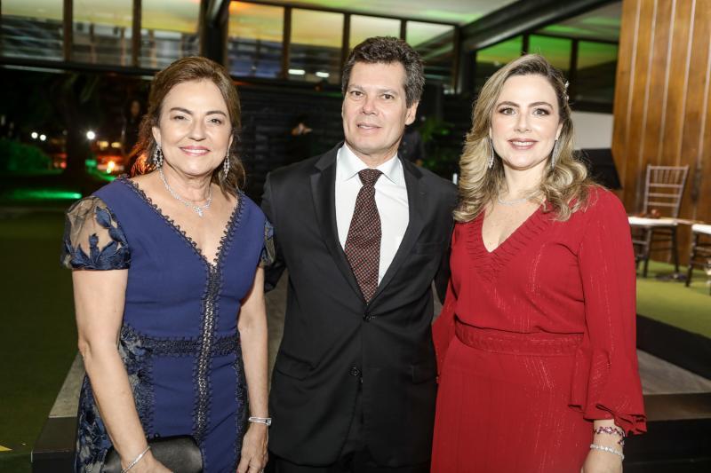 Ana Studart, Claudio e Suyane Dias Branco