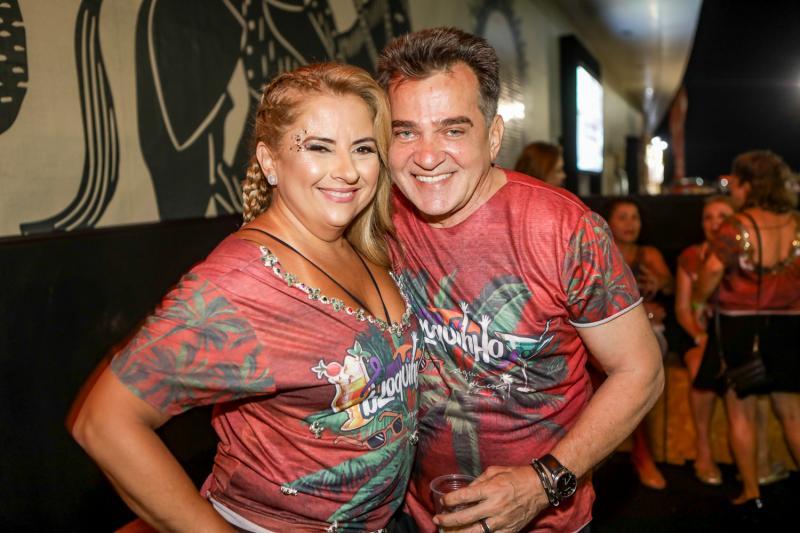 Beth Pinto e Watson Viana