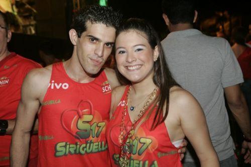 Leopoldo Aguir e Laila Teixeira