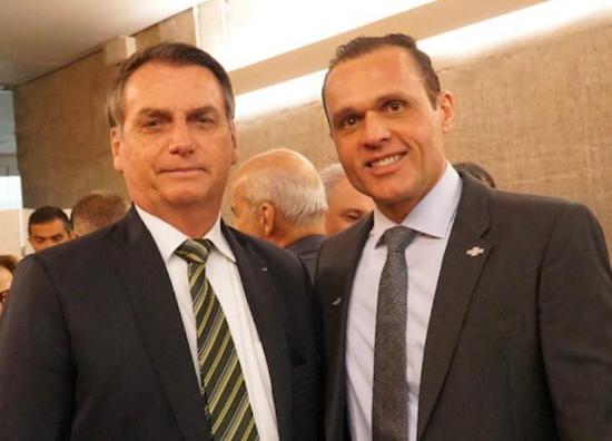 Eduardo Diogo articula ações com Bolsonaro