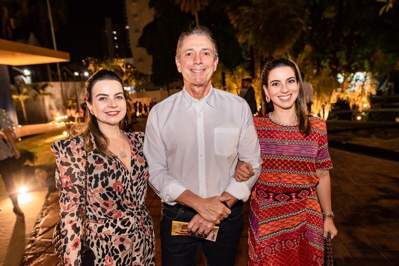 Daniela, Afranio e Ticiana Barreira