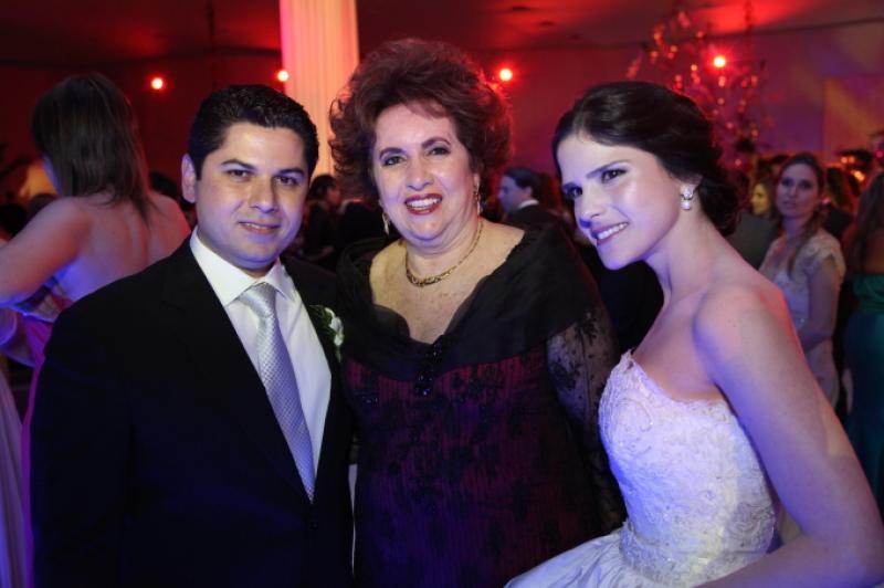 Pompeu Vasconcelos, Leda Maria e Marilia Quintao