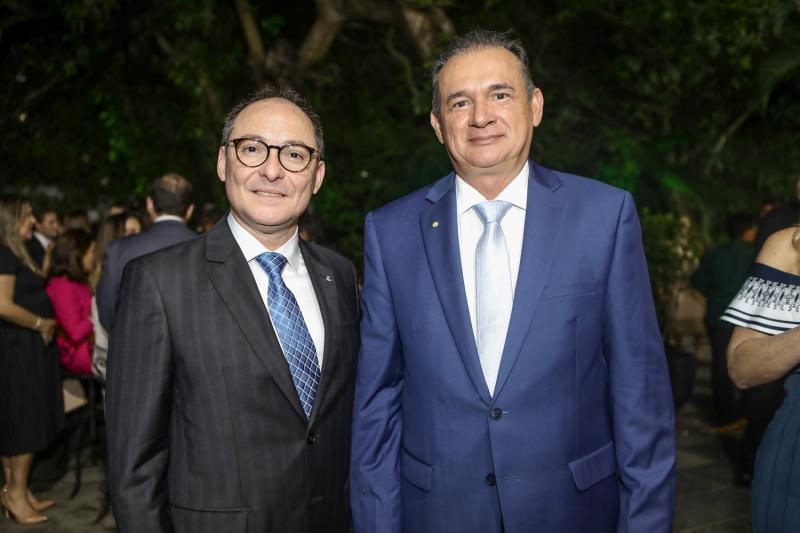 Alcides Saldanha e Washington Araujo
