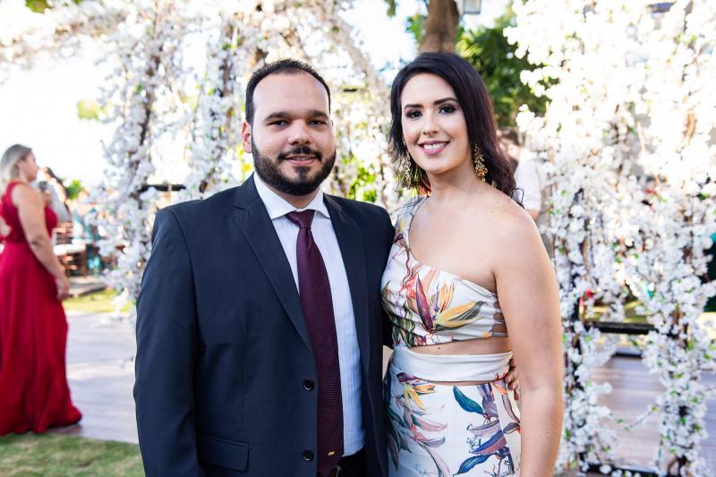 Renan Dantas e Jana Albuquerque