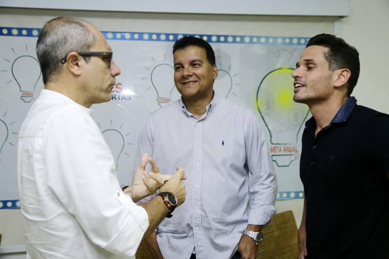 Betinho Santos, Esio Feitosa e Rafael Sa